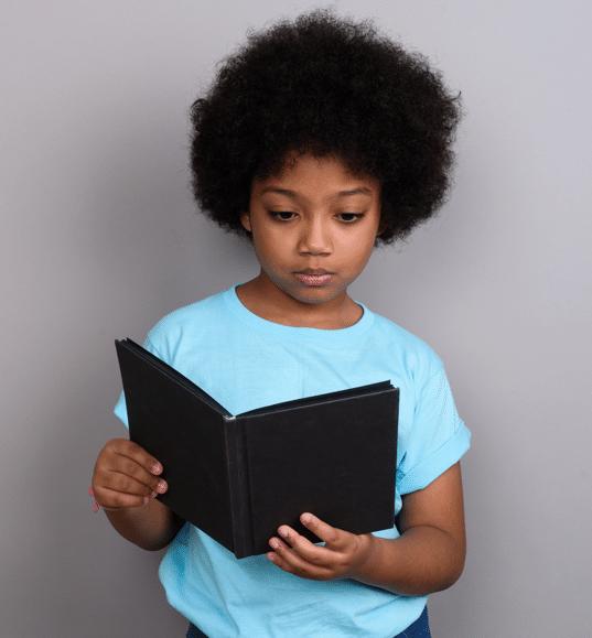 Children take assessment